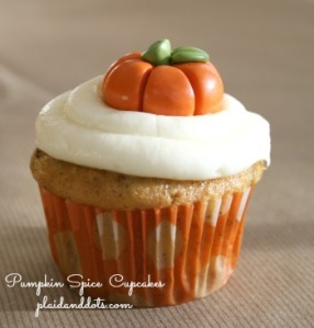 Photo: Pumpkin Spice Cupcake with Cream Cheese Frosting